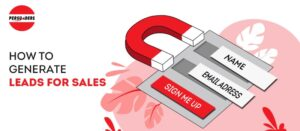 How to generate leads for sales